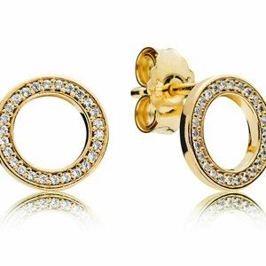 Pandora Jewelry - PANDORA Forever Stud Earrings Shine 267112CZ